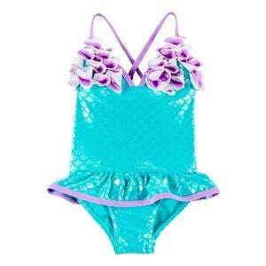 NWT * Floatimini Mermaid one piece swimsuit size 6